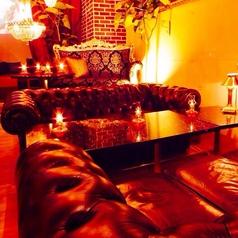 女性が喜ぶ!なんと全席ソファ席★夜カフェにも最適♪