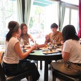 テーブル席でゆったりご利用頂けます!ランチ・ママ会・女子会・ディナー・パーティなど様々なシーンにOK!