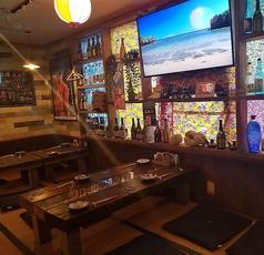 ぜひお座敷のお席でくつろいで、はいさい!の楽しい空間と美味しいお料理とお酒をご満喫下さい!