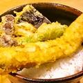 料理メニュー写真姫路名物穴子天丼