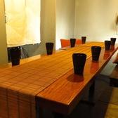 少人数様から団体様用まで大小さまざまなお席をご用意!飲み放題がついたお得な宴会コースも多数ございます!この値段はコスパも抜群!こだわりのお食事をぜひともご堪能ください。