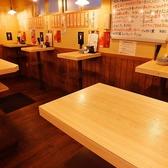 2名様でご利用いただけるテーブルが4卓ございます♪デートにもどうぞ!※当店は、椅子のご用意がございませんのでご了承ください。
