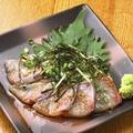 料理メニュー写真ごまカンパチ (博多名物)