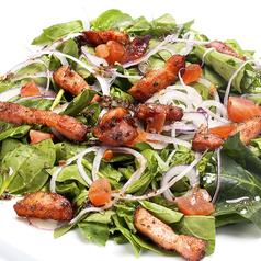 ベーコンとほうれん草のサラダ