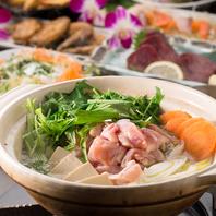 薩摩もち豚しゃぶしゃぶやモツ鍋、水炊き鍋が自慢!
