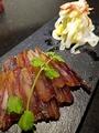 料理メニュー写真自家製干し肉 白菜甘酢添え