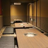宴会用に6名個室をつなげることにより最大24名様まで対応可能。お気軽にお問い合わせください。