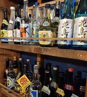 泡盛は県内47酒造所の泡盛を全て取り揃え150種類以上!