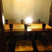 当店は少人数からご利用可能な落ち着いた雰囲気のおしゃれな個室席を完備しています。友人同士の飲み会や会社での宴会などにおすすめ◎楽しい一時を心ゆくまでお過ごしください。