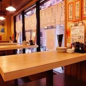 4名様でご利用いただけるテーブルが5卓ございます♪グループ宴会にもオススメ♪※当店は、椅子のご用意がございませんのでご了承ください。