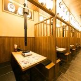 """海鮮串や有田鶏を片手に何度でもカンパイ!美味しいお料理を""""気軽に""""味わっていただけることが「博多市場 名古屋駅店」の醍醐味です。"""