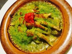 帆立貝とキノコのブルギニオン オーブン焼き