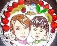 お祝い・パーティに大好評!! 顔ケーキ★