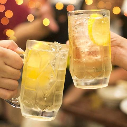 【OPEN記念♪】単品飲み放題!2時間飲み放題2300→1300円《当日予約OK》