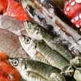 毎日市場で仕入れる魚介類