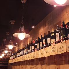 食材に合うワインを厳選してお出ししております!お気に入りを見つけて下さい。