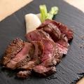 料理メニュー写真新潟和牛のビステッカ