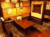 4名様テーブル席は3卓ございます。