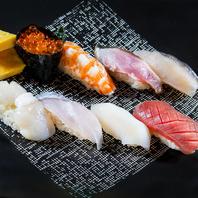 鮨のネタに合う「こだわり」の日本酒を常時15種類以上
