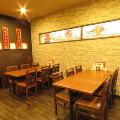 中国の雰囲気を味わいながら、楽しい時間を過ごせます♪小人数のご利用ももちろんお待ちしております!ゆったりとしたデート・ご友人とのお食事に◎