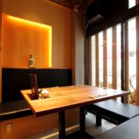 【伝統的な日本家屋を思わせる雰囲気】