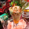 料理メニュー写真青いパパイヤサラダ