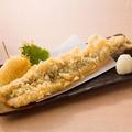 料理メニュー写真◆穴子の一本天ぷら