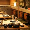 会社宴会や接待、プライベート飲み会にも◎落ち着いた雰囲気漂う個室でゆっくりとご宴会をお楽しみ頂けます!