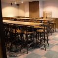 最大40名でご利用可能なテーブルタイプの個室