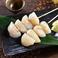 料理メニュー写真ホタテのレア串【レモン塩】