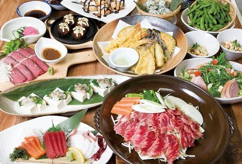 南浦和駅 東口すぐ!宴会にピッタリのお得なコースもご用意しております♪
