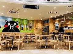くまモンビレッジ カフェスペースの写真