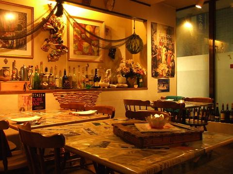 ヨーロッパを知りつくし、イタリア全土を周ったシェフが作る本格イタリア料理のお店!