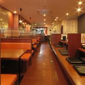 【テーブル席】テーブル席は写真のようなお席とお店の少し奥にイスのテーブル席がございます!
