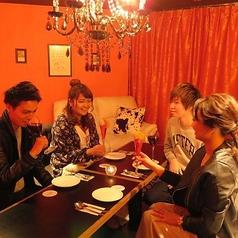 1日1組の完全個室☆女子会や合コン使いに人気です♪人気の為、事前予約がオススメ!!