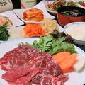 """料理メニュー写真""""厳選和牛""""焼肉セット(ハラミ・バラ・ホルモン)"""