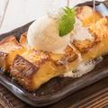 料理メニュー写真バニラ香る厚切りフレンチトースト