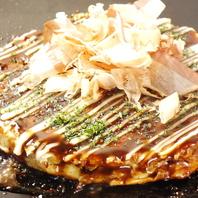 ふわふわのお好み焼きは祇園花月の芸人さんにも人気◎