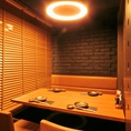 2~16名様まで人数に合わせて半個室での対応が可能です。仕事終わりの飲み会や食事にもおすすめです。