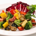 料理メニュー写真伊野菜の軽い煮込み ナポリの昔ながらのチャンフォッタ