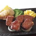 料理メニュー写真黒毛和牛ロースステーキ
