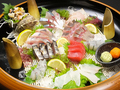 料理メニュー写真海猫風 自慢の本日の刺身盛り合わせ(お一人様)