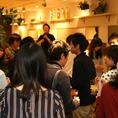 企業パーティー、歓迎会、送別会、同窓会、誕生日会など幅広いパーティーに対応!