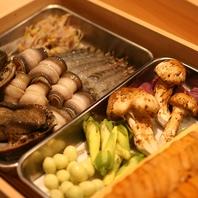 名古屋では珍しい100%胡麻油で揚げる天ぷらを楽しめる