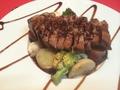 料理メニュー写真フランス産鴨胸肉のロティー