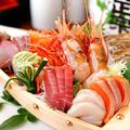 料理メニュー写真こだわり厳選旬魚!お刺身盛り合わせ