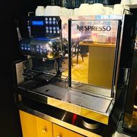 コーヒー好き必見!オーナー自慢のコーヒーマシン