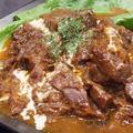 料理メニュー写真牛頬肉ワイン煮込 デミグラスソース