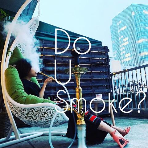 仙台で初めてシーシャ(水タバコ)を専門に提供するカフェ。テラス席完備