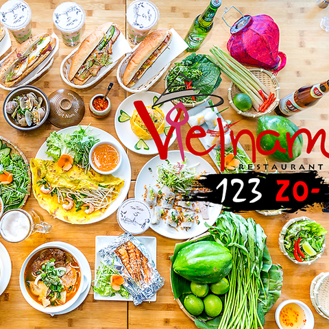 ベトナム料理 123zo なんば店